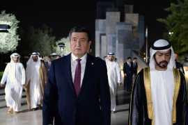 Официальный визит Президента Кыргызстана в ОАЭ