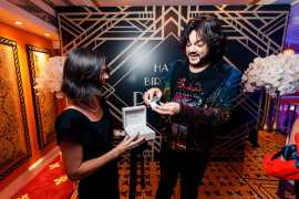 Superstar Philipp Kirkorov is gifted a Marine Torpilleur In Dubai to celebrate his birthday