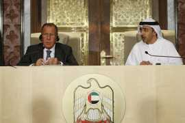 Пресс-конференция Сергея Лаврова в Абу Даби