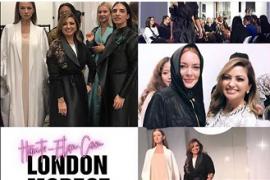 Линдсей Лохан пришла на Лондонскую неделю скромной моды в хиджабе