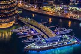 Бранч на 220-футовой яхте в Дубае