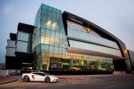 Lamborghini open's it's largest showroom in the world in Dubai