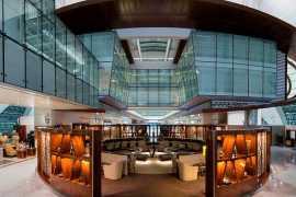 阿联酋航空豪华商务舱休息室装修完成