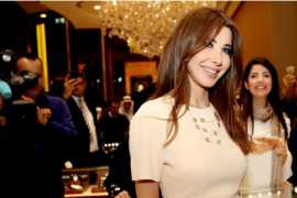 Superstar Nancy Ajram dazzles in new 'Farfasha' Collection launched during DSF 2017!