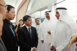 中国作为主宾国参展阿布扎比国际书展