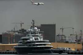 Russian oligarch's Dh1.8 billion superyacht could sail away from UAE after court ruling
