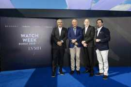 The first ever Watch Week organized by LVMH Watches & Jewelry division debuted in Dubai