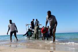 Полторы сотни нелегалов погибли при кораблекрушении у берегов Ливии