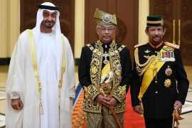 Шейх Мухаммед Бин Заид принял участие в коронации нового короля Малайзии
