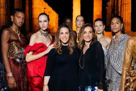 Bvlgari's one-of-a-kind pieces featured in Mary Katrantzou's Spring/Summer 2020 show