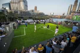 Hublot hosts Football Match of Friendship with Ahmed Seddiqi & Sons