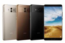Introducing the Huawei Mate 10 series