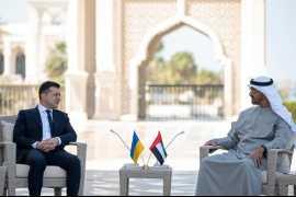Визит президента Украины в Объединенные Арабские Эмираты