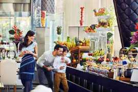 Вкуснейший семейный бранч в отеле The Meydan Hotel