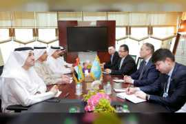 Minister of Economy calls for stronger UAE-Kazakhstan ties