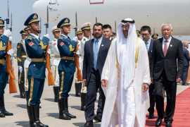 Sheikh Mohamed bin Zayed arrives in China for official visit