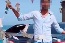 Man arrested in Dubai for throwing cash in social media stunt