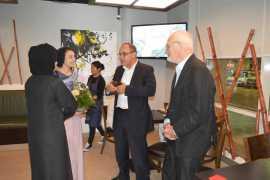 Выставка «Весна – поворот в искусстве» в Абу Даби