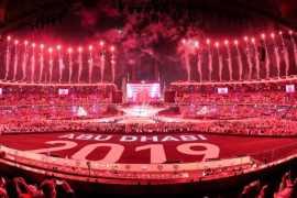 В Абу-Даби состоялась грандиозная церемония закрытия юбилейных Специальных Олимпийских игр-2019 (Видео)