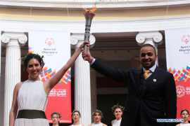'Flame of Hope' for Special Olympics World Games lit in Athens