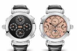 Часы Patek Philippe Grandmaster Chime стали самыми дорогими часами в мире