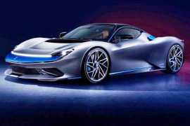 Pininfarina Battista electric hypercar is faster than a fighter jet (Video)