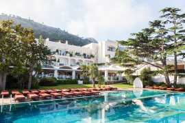 Jumeirah Group расширяет свое международное портфолио отелем Capri Palace в Италии