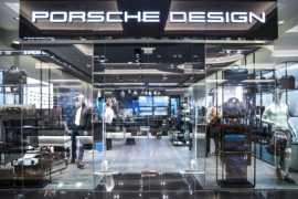 New Porsche Design Store in the Mall of the Emirates in Dubai