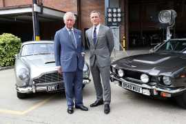 Prince Charles invited to star in new James Bond film during visit to set