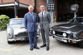 Принц Чарльз может принять участие в съемках нового фильма о Бонде