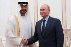 Телефонный разговор Владимира Путина с Наследным принцем Абу-Даби Мухаммедом Аль Нахайяном