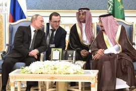 Russian President's state visit to Saudi Arabia