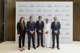 全世界最大的劳力士精品店在迪拜购物中心开业