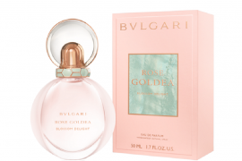 Bvlgari parfums' Rose Goldea Blossom Delight celebrates a woman's coming of age