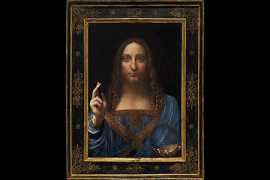 A $450m Da Vinci is aboard MBS's yacht, Artnet says