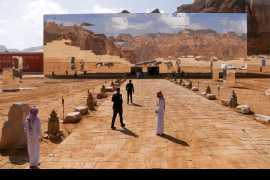 Saudi Arabia's crown prince launches mega tourism projects in ancient area of Al-Ula