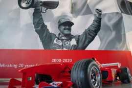 'Schumacher, the Scuderia Ferrari Champion' at Ferrari World Abu Dhabi