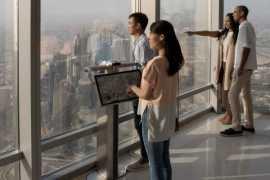 «Эмирейтс» дарит билет на смотровую площадку самого высокого здания в мире