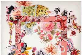 Salvatore Ferragamo presents the new Silk Capsule collection