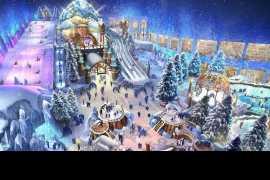 Завершается работа над новым снежным парком Абу-Даби