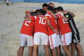 Сборная России по пляжному футболу вышла в полуфинал Межконтинентального кубка