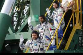 Hazza Al Mansouri becomes first Emirati in space