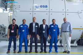 Emirati astronauts complete training at European Astronaut Centre in Germany