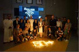 Studio M Arabian Plaza supports Earth Hour