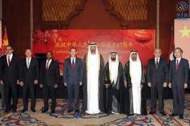 驻阿联酋使馆举行国庆67周年招待会