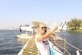 Take a bird view of Ajman with Seawings Seaplane