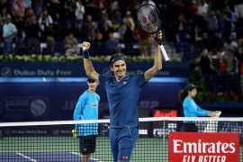 Dubai Tennis Final: Roger Federer wins 100th career title