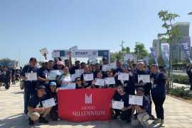 Grand Millennium Al Wahda participates in the Terry Fox Run