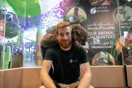 Meet the region's first ever bearcat at The Green Planet, Dubai