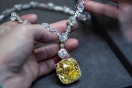 Легендарный желтый бриллиант от Tiffany украсит шею главной героини фильма «Смерть на Ниле»